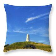 Wright Brothers Memorial Panorama Throw Pillow