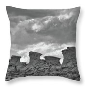 Wyoming Landscape Throw Pillow