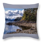 Yankee Cove  Throw Pillow
