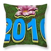 Year 2016 Throw Pillow