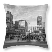 Yonge Dundas Square Throw Pillow