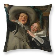 Yonker Ramp And His Sweetheart Throw Pillow