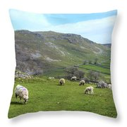 Yorkshire Dales - England Throw Pillow