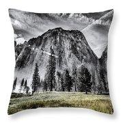 Yosemite Dawn Throw Pillow by Chris Cousins