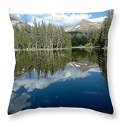 Yosemite Reflections A Throw Pillow