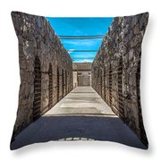 Yuma Territorial Prison Throw Pillow