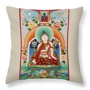 Yuthok Bumseng Throw Pillow