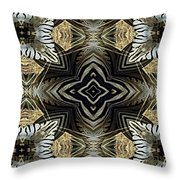 Zebra V Throw Pillow