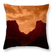 Zionized Throw Pillow