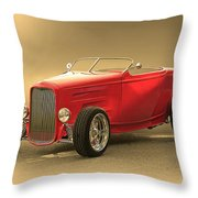1932 Ford Hiboy Roadster Throw Pillow