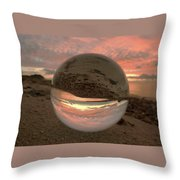 10-27-16--1870 Don't Drop The Crystal Ball, Crystal Ball Photography Throw Pillow