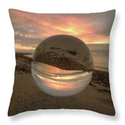 10-27-16--1914 Don't Drop The Crystal Ball, Crystal Ball Photography Throw Pillow