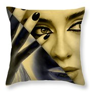 Adele Collection Throw Pillow