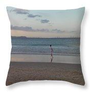 Australia - Calm Seas At Greenmount Beach Throw Pillow