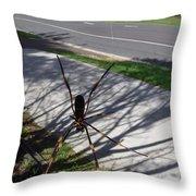 Australia - The Spider Throw Pillow