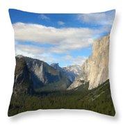 C Landscape Throw Pillow