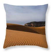 Coral Pink Sand Dunes Throw Pillow