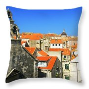 Croatia, Dubrovnik Throw Pillow