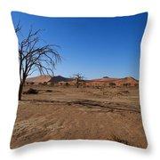 Death Tree Hidden Vlei Throw Pillow