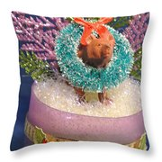 Diorama Miniature Scene Throw Pillow