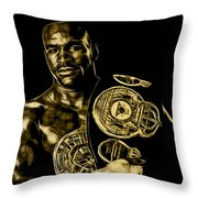 Evander Holyfield Collection Throw Pillow