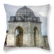 Flanders Fields Belgium Throw Pillow