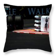 Formula 1 Monaco Grand Prix 2016 Throw Pillow