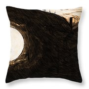 Imperial Star Wars Poster Throw Pillow