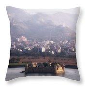 Jaipur - India Throw Pillow