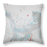 Kintu And Nambi Loves Puzzle Throw Pillow