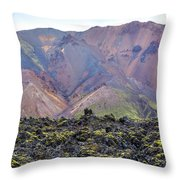 Landmannalaugar - Iceland Throw Pillow