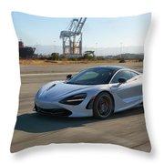 #mclaren #720s #print Throw Pillow
