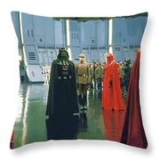 Movie Star Wars Poster Throw Pillow