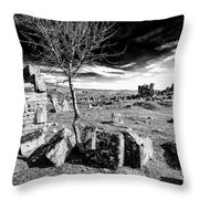 Pamukkale Throw Pillow