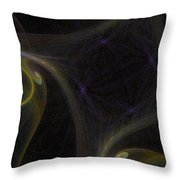 Liquid Color's Throw Pillow