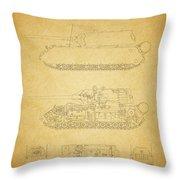 Panzerkampfwagen Maus Throw Pillow