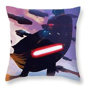 Saga Star Wars Poster Throw Pillow