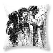 Shakespeare: Richard IIi Throw Pillow