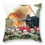 Star Wars At Poster Throw Pillow