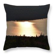 Sun's Reflection Throw Pillow