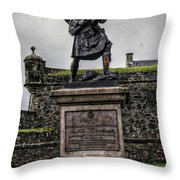 Scotland United Kingdom Uk Throw Pillow