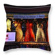 100 Ways Throw Pillow