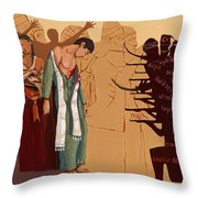 100 Years Of Genocide Throw Pillow
