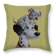 101  Throw Pillow