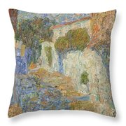 Alupka Throw Pillow