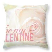 10758 To My Valentine Throw Pillow