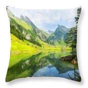 Nature Landscapes Prints Throw Pillow