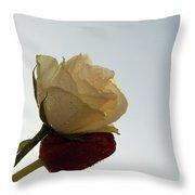 Nice Rose Throw Pillow