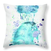 10805 Cloudy Day Throw Pillow