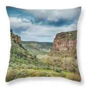 10901 Owyhee Canyon Throw Pillow